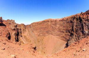 crater del monte vesubio