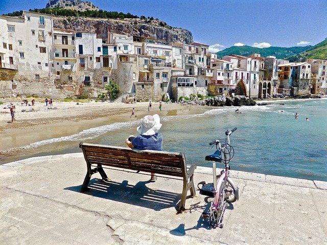 Cefalu sicilia italia