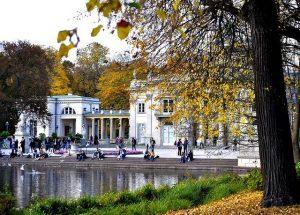 Parque Lazienki varsovia
