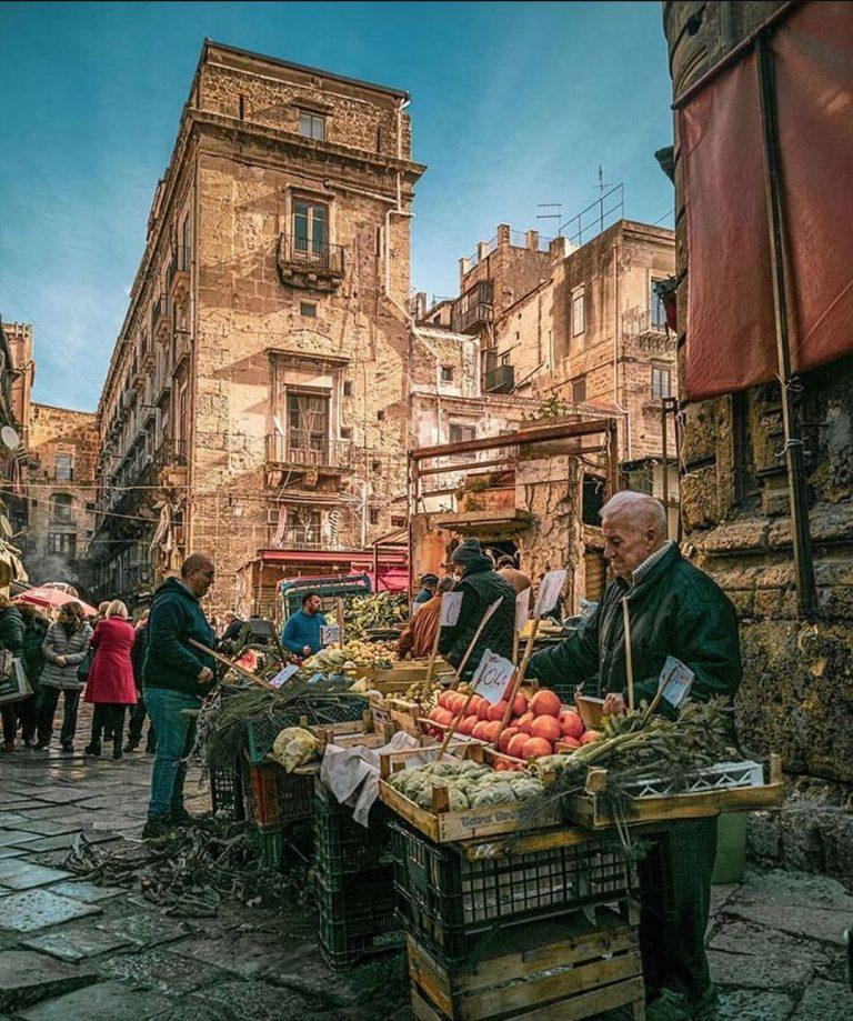 mercado de Palermo ballaro