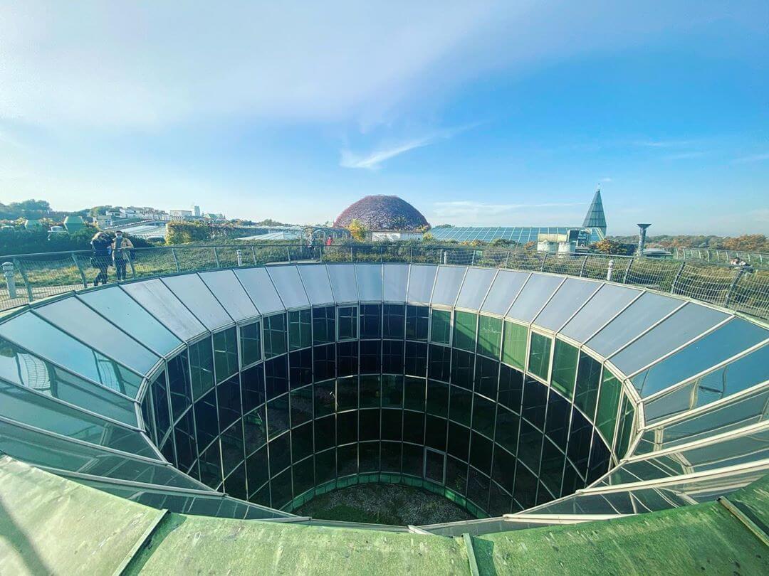 jardines del tejado de la biblioteca universidad de varsovia