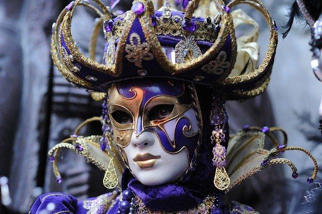 carnaval de venecia mascaras y disfraces