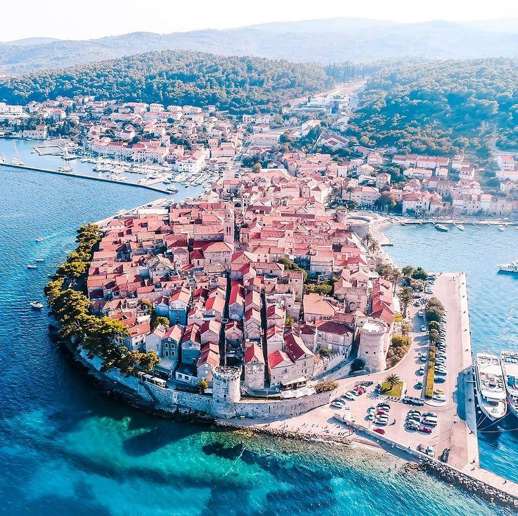 isla de korcula riviera croata