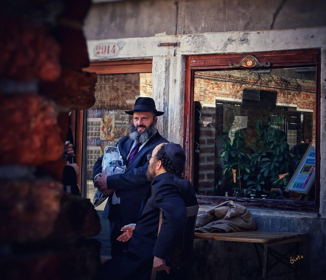 judios en el ghetto de venecia