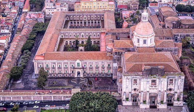 monasterio de los benedictinos de catania