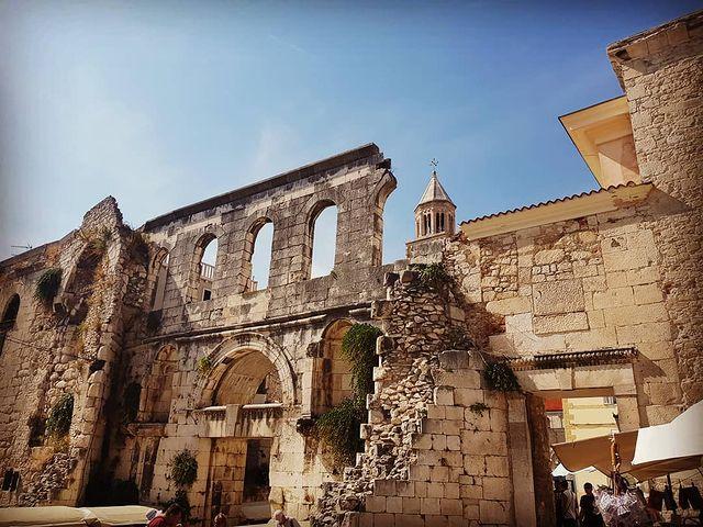 PALACIO DE DIOCLECIANO DE SPLIT