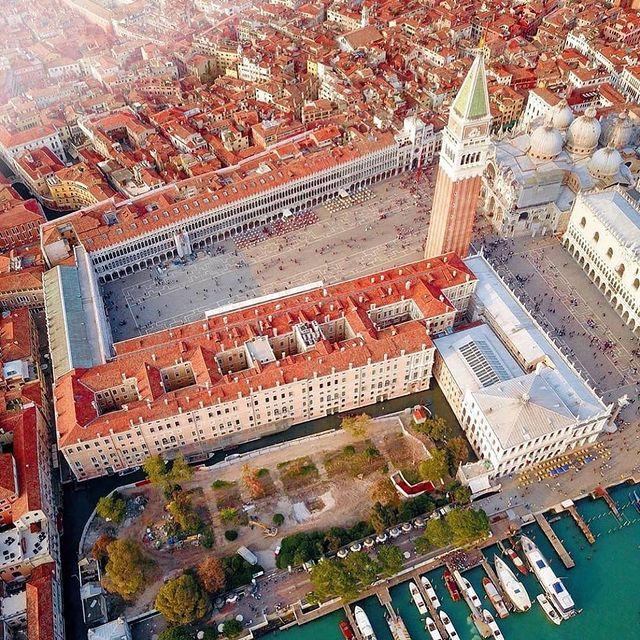 Plaza de San Marco de Venecia