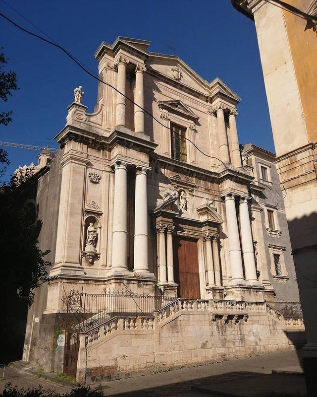 Iglesia de San Francisco Borgia de Catania