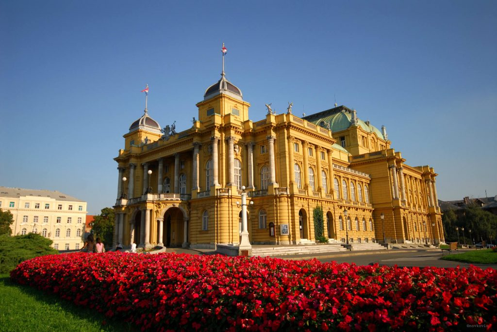 teatro nacional croata de zagreb