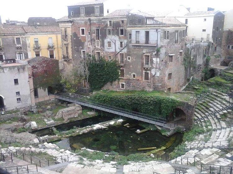 teatro grecoromano de catania