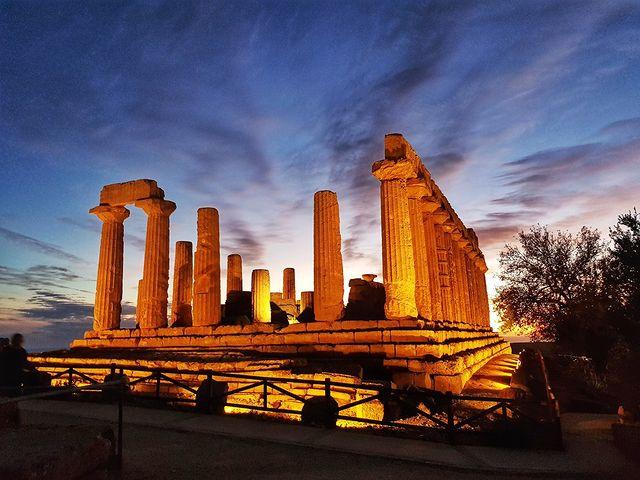 templo di giunone Valle de los templos de agrigento