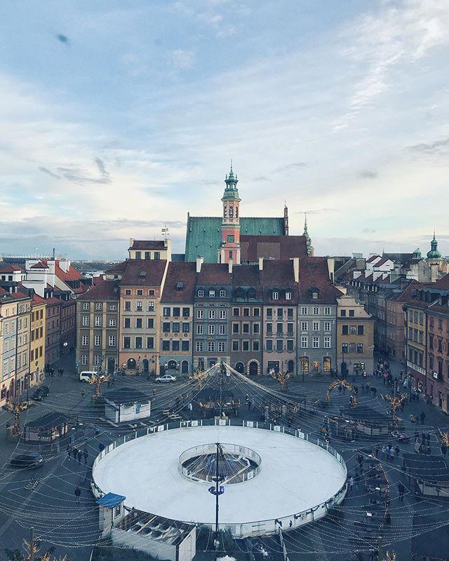 vistas desde el museo de varsovia
