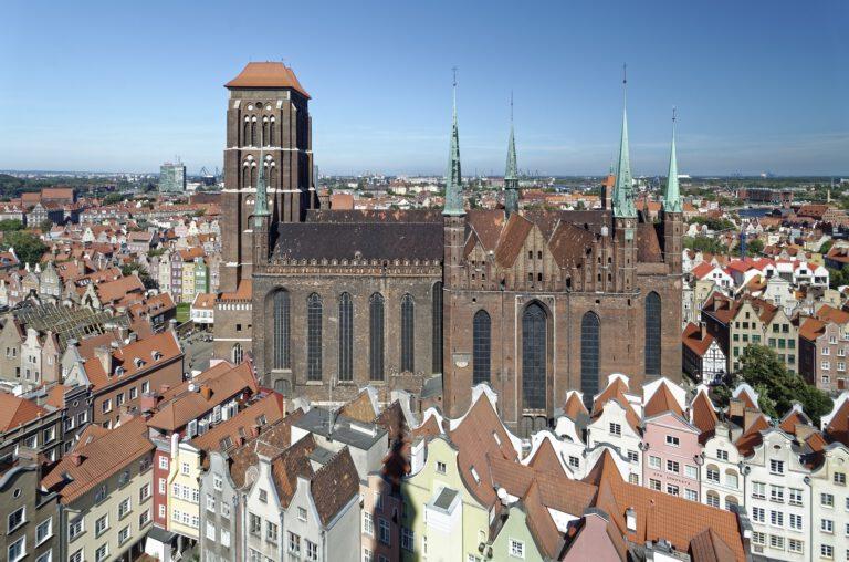 Vistas de la ciudad de Gdansk