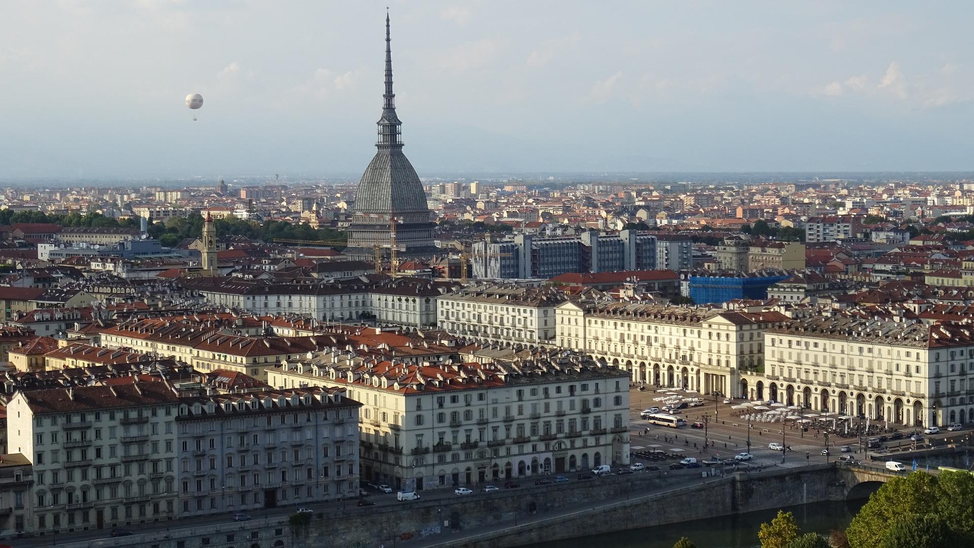 Skyline de Turin