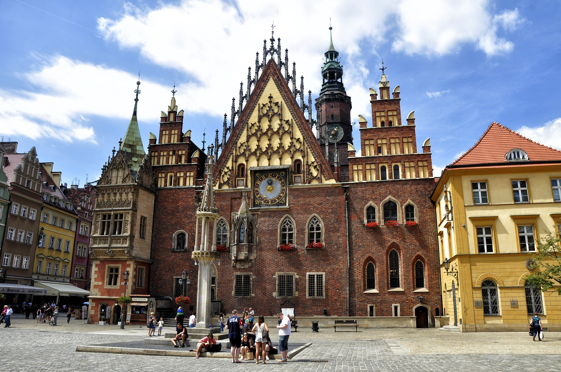 Centro historico de Wroclaw