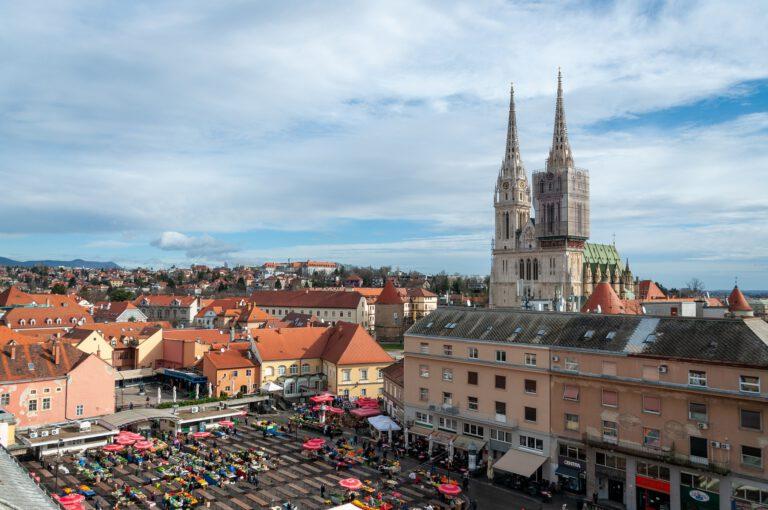 Centro historico de Zagreb