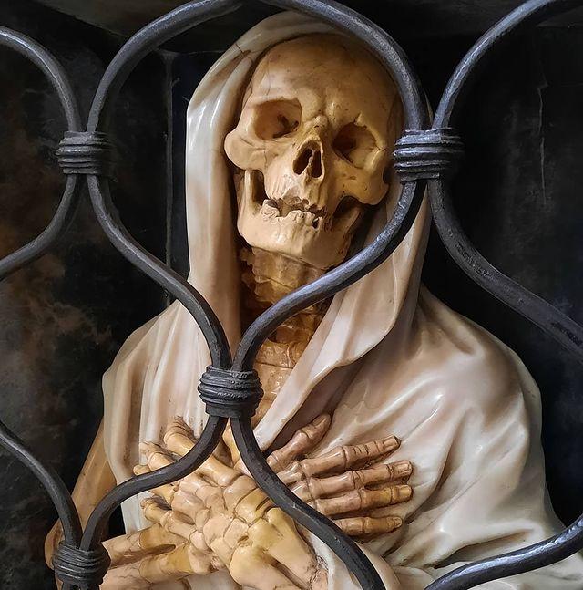 detalle interior santa maria del popolo