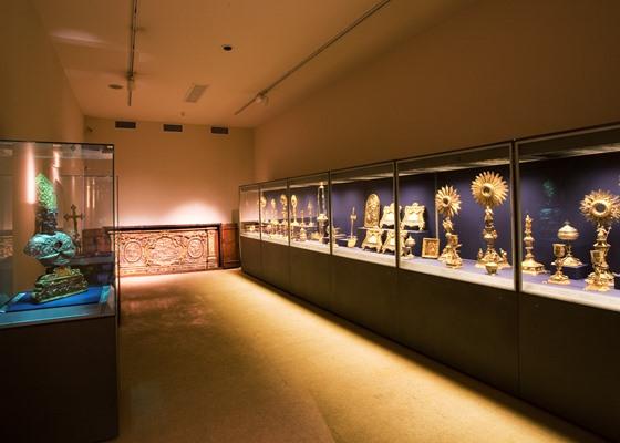 interior del museo diocesano de catania