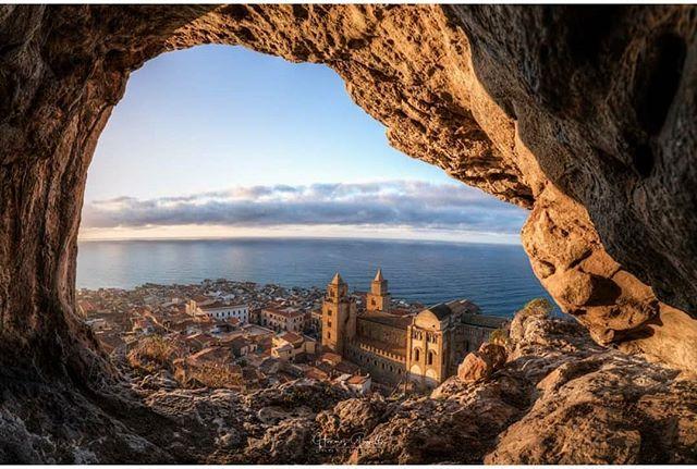 Catedral de Cefalu desde la Roca