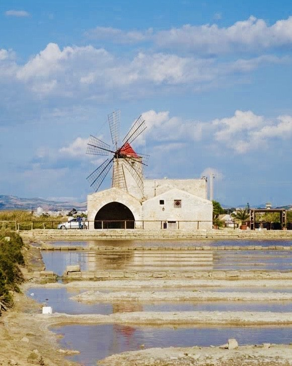 Reserva Natural de Sal en Trapani y Paceco