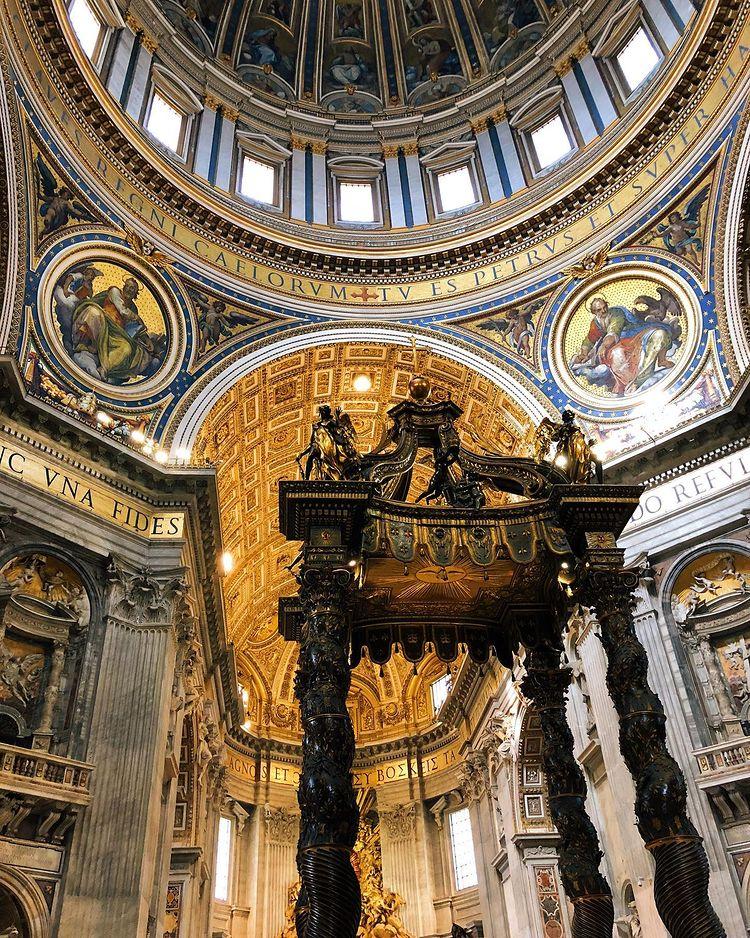 Basilica de San Pedro en el Vaticano Roma