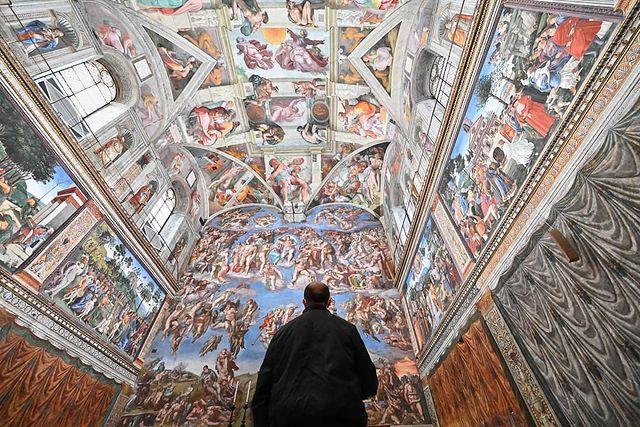 capilla sixtina del vaticano