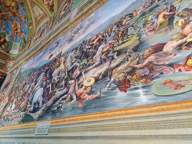 estancias de Rafael en los museos vaticanos