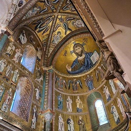mosaicos de la catedral de cefalu