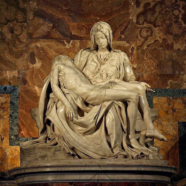 piedad de miguel angel en el vaticano